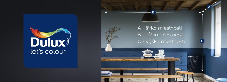 Výpočet plochy stien a stropov