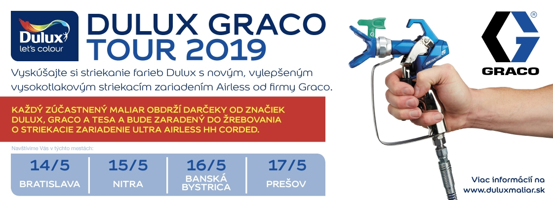 Dulux Graco Tour 2019