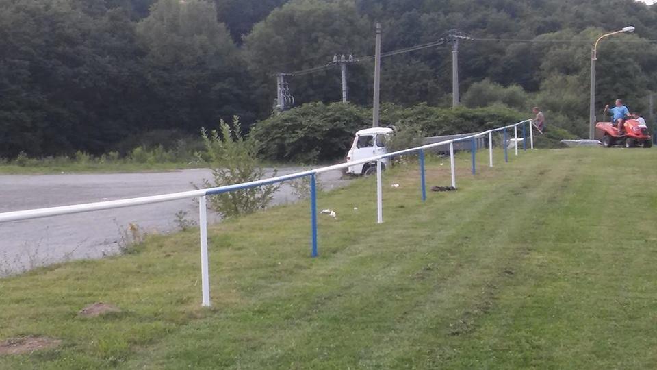 Zábradlie a oplotenie futbalového ihriska 1103062085
