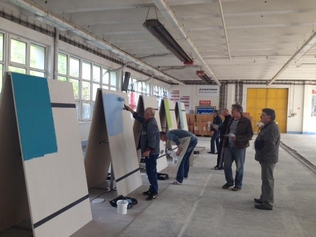 Testujeme Farby Dulux 9.4.2014 Nitra