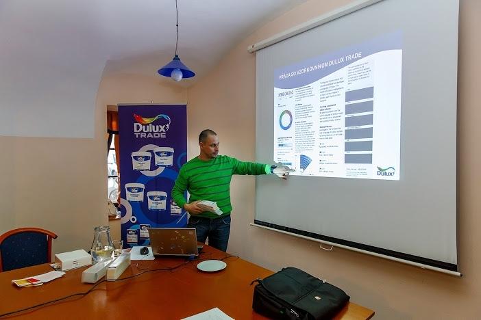Testujeme Farby Dulux 21.3.2014 Košice