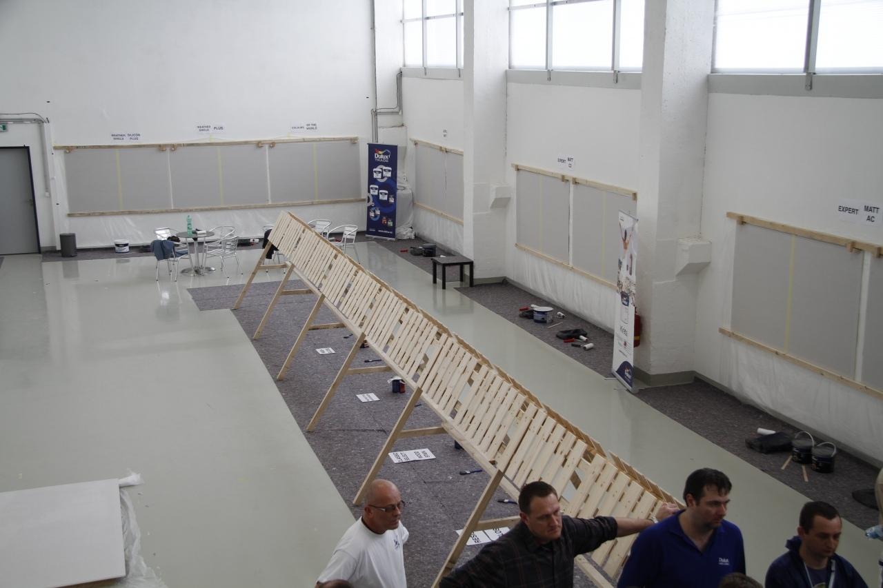 Testovanie nového miešacieho systému - Praha 4.2.2014