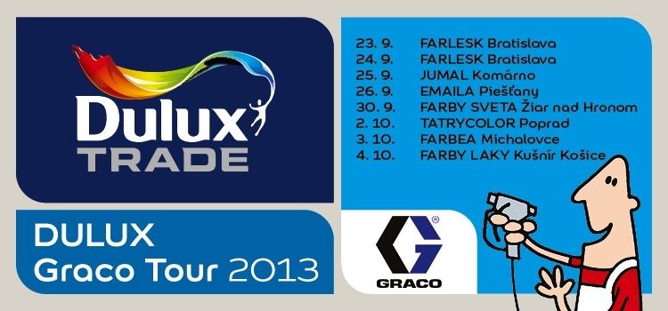 Dulux Graco Tour 2013