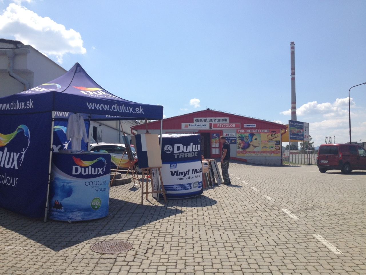 DULUX TEST DAYS 17.7.2013 - Perfect Colour Žiar nad Hronom