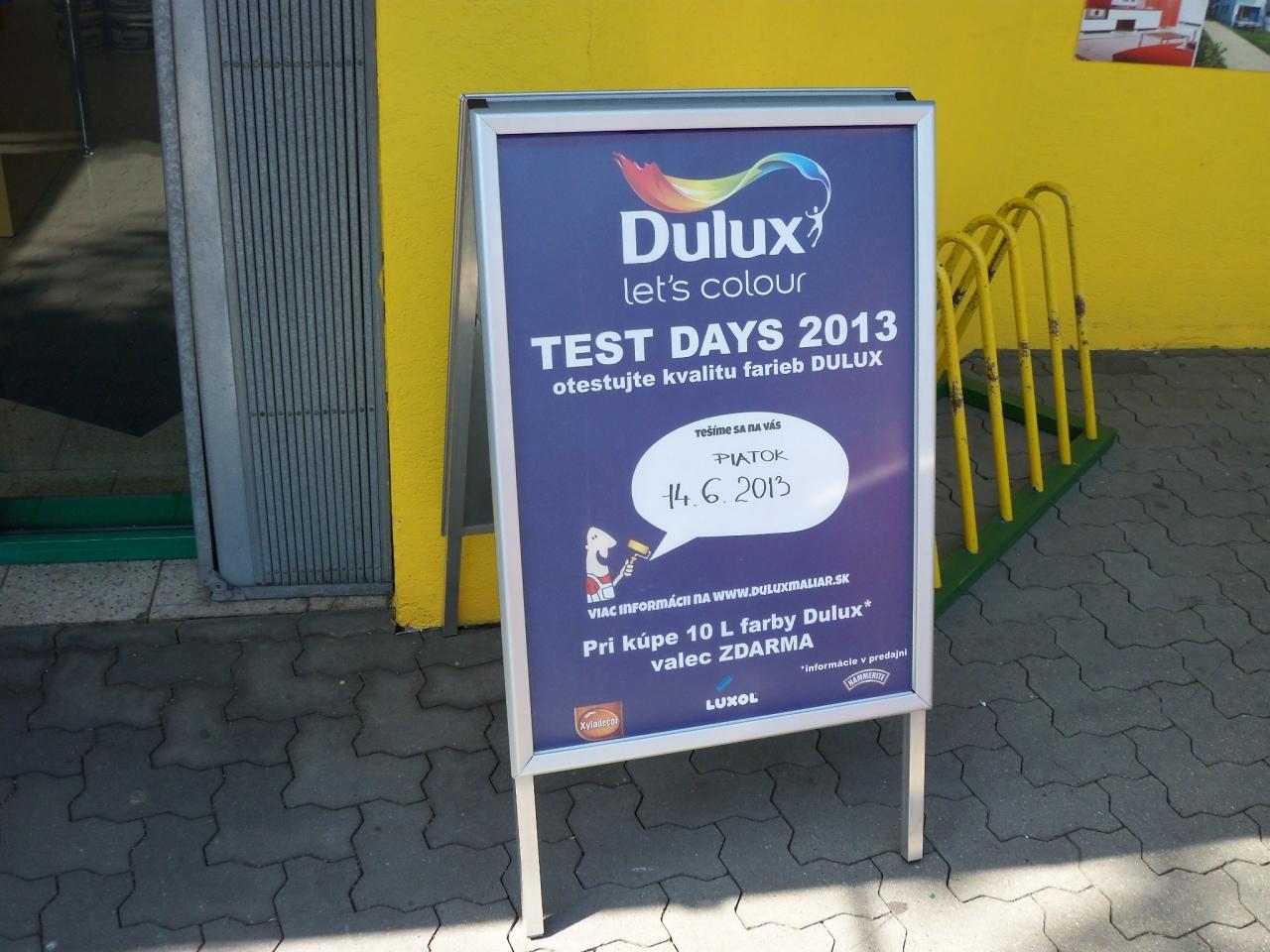 DULUX TEST DAYS 14.6.2013 - FARLESK Bratislava