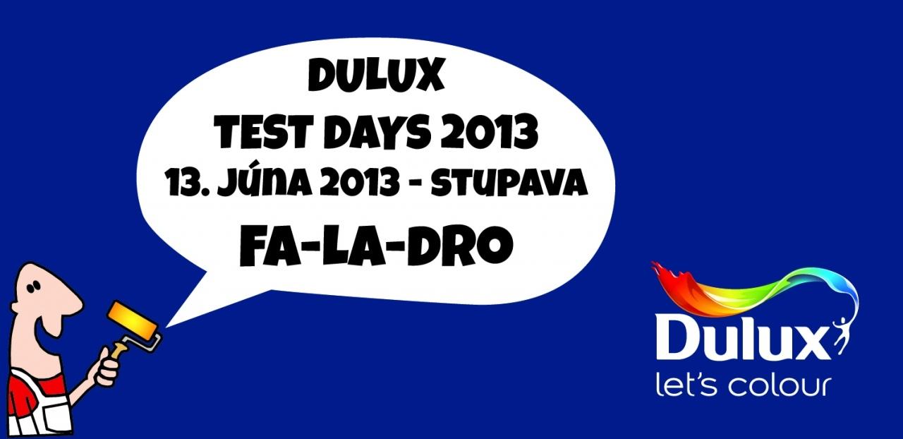 DULUX TEST DAYS 13.6.2013 - FA-LA-DRO Stupava